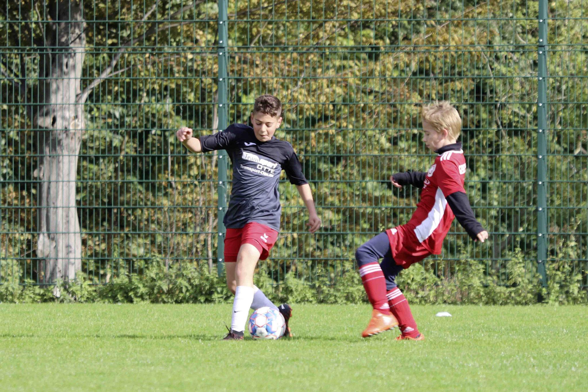 Rot Weiss Ahlen U13 gegen Geisecker SV