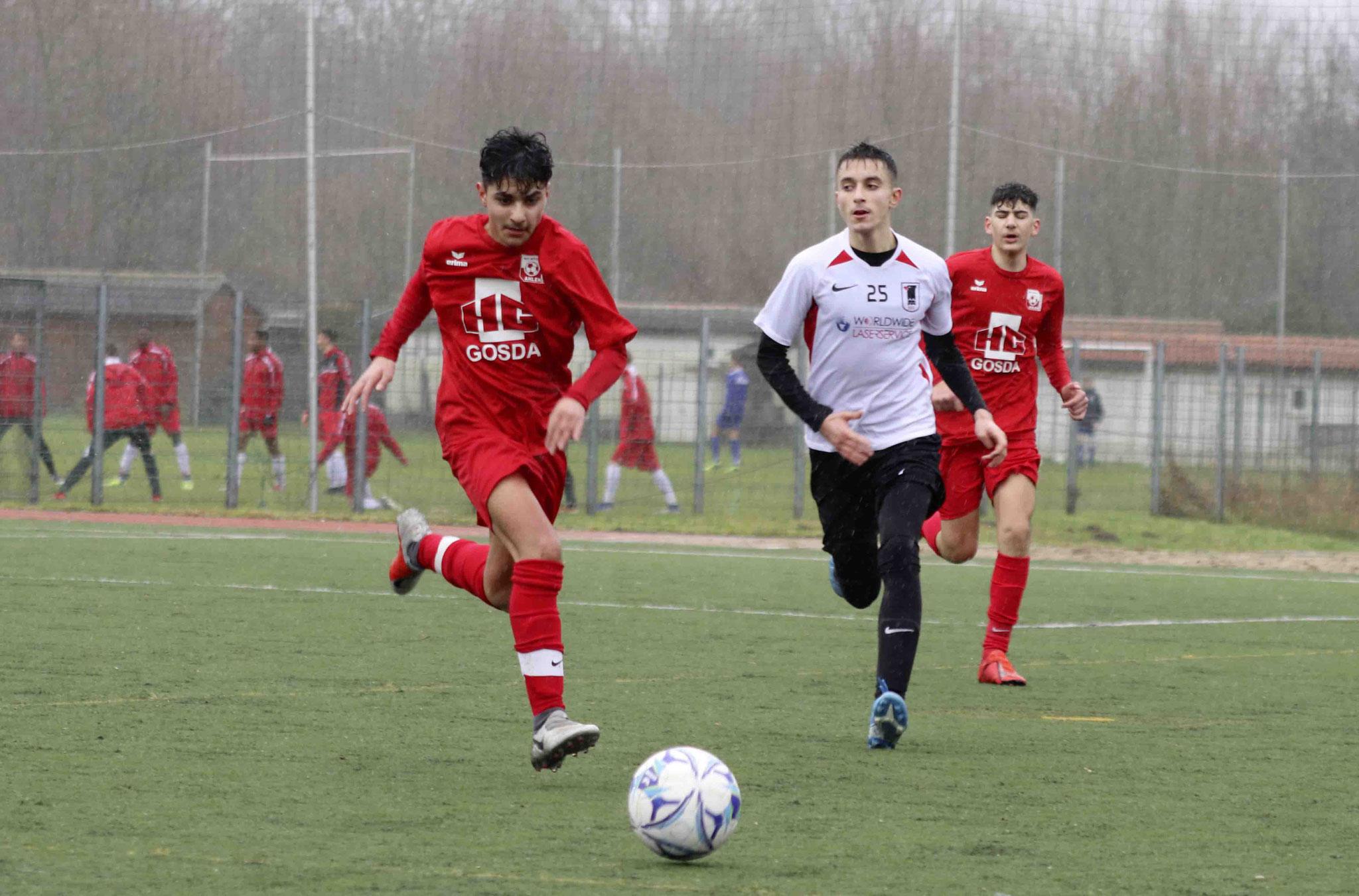 Rot Weiss Ahlen U15 C1 gegen SSV Hagen