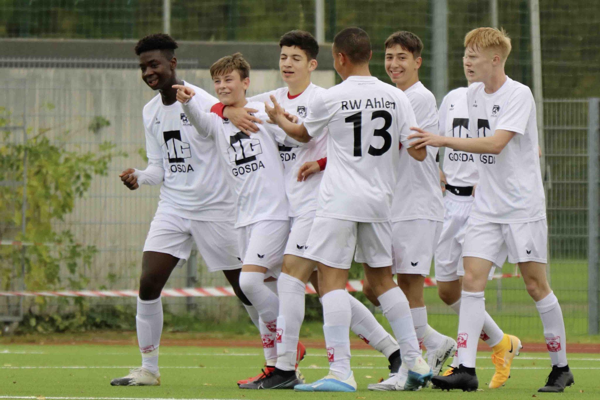 Rot Weiss Ahlen U17 gegen Eintracht Rheine