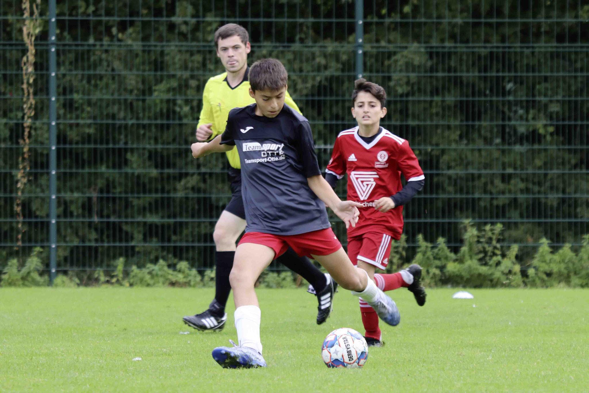 Rot Weiss Ahlen U13 gegen SV Brackel 06