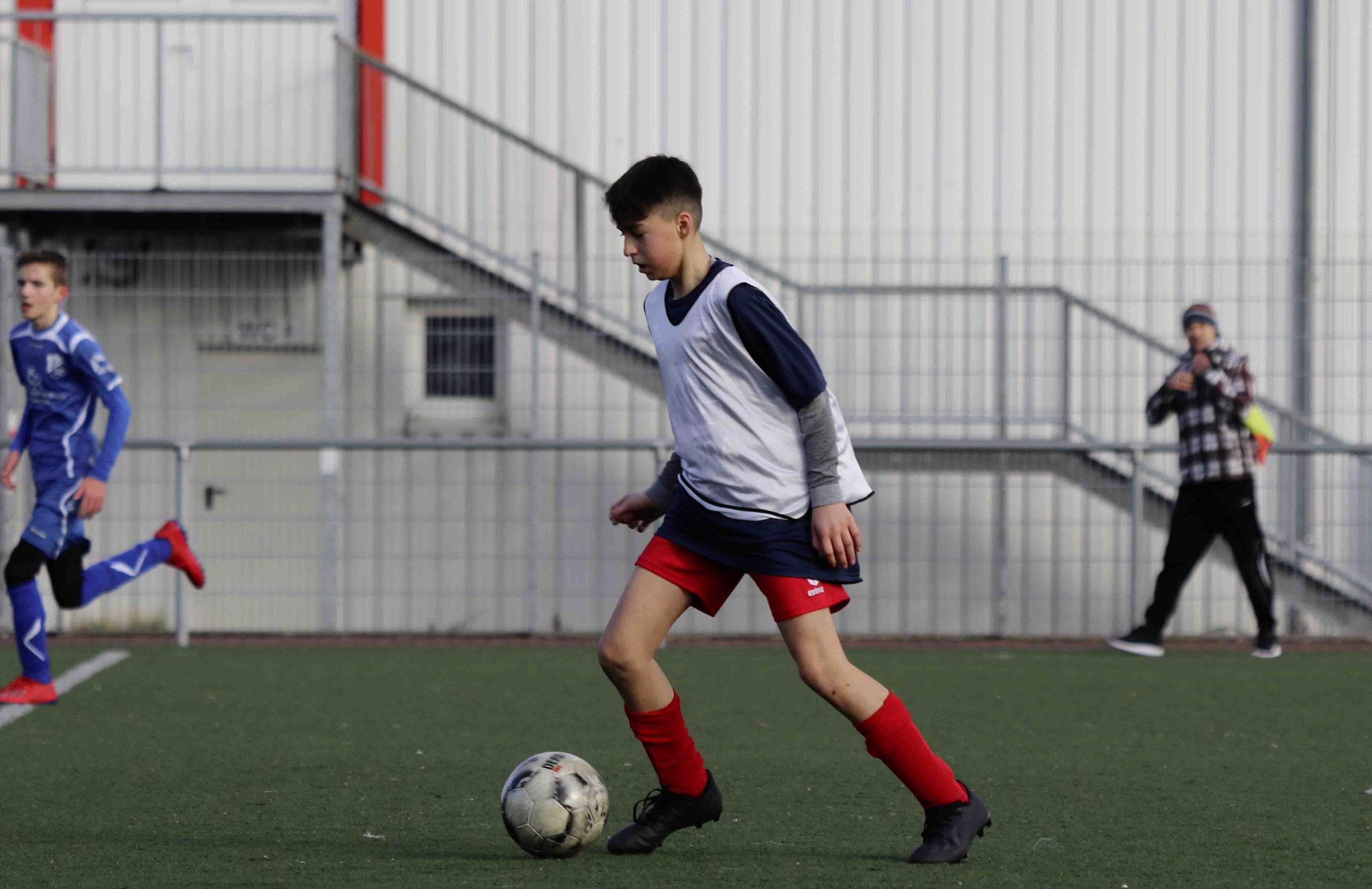 Rot Weiss Ahlen U14 C2 gegen SpVg Oelde