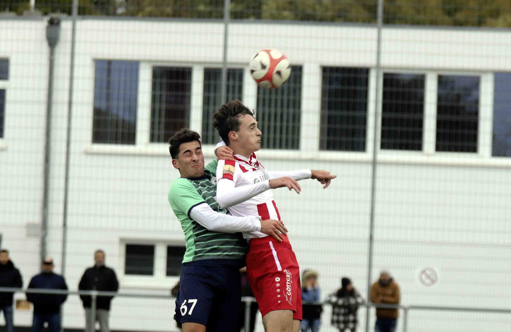 Rot Weiss Ahlen U19 A1 gegen SV Westfalia Soest