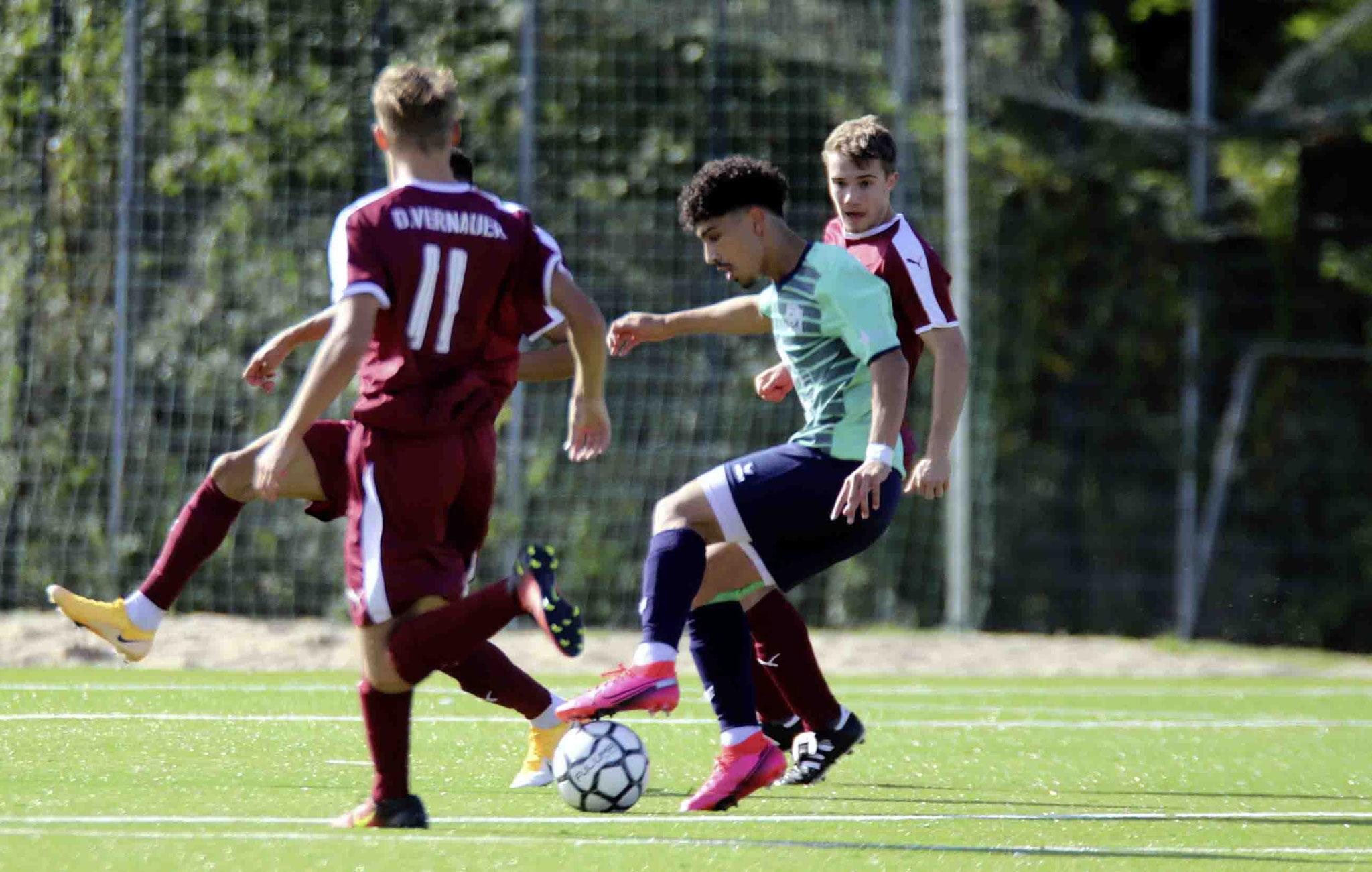 Rot Weiss Ahlen U19 A1 gegen 1. FC Gievenbeck