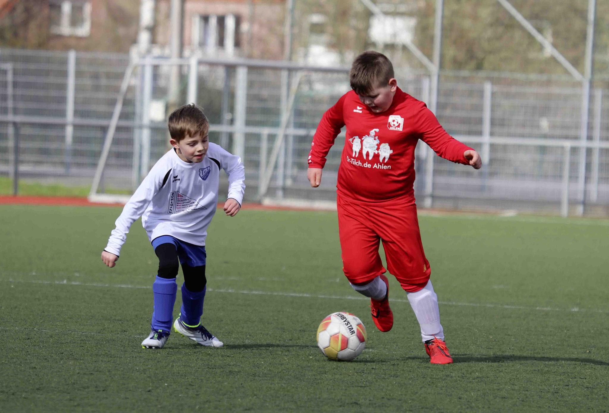 Rot Weiss Ahlen U9 F1 gegen TuS Wadersloh