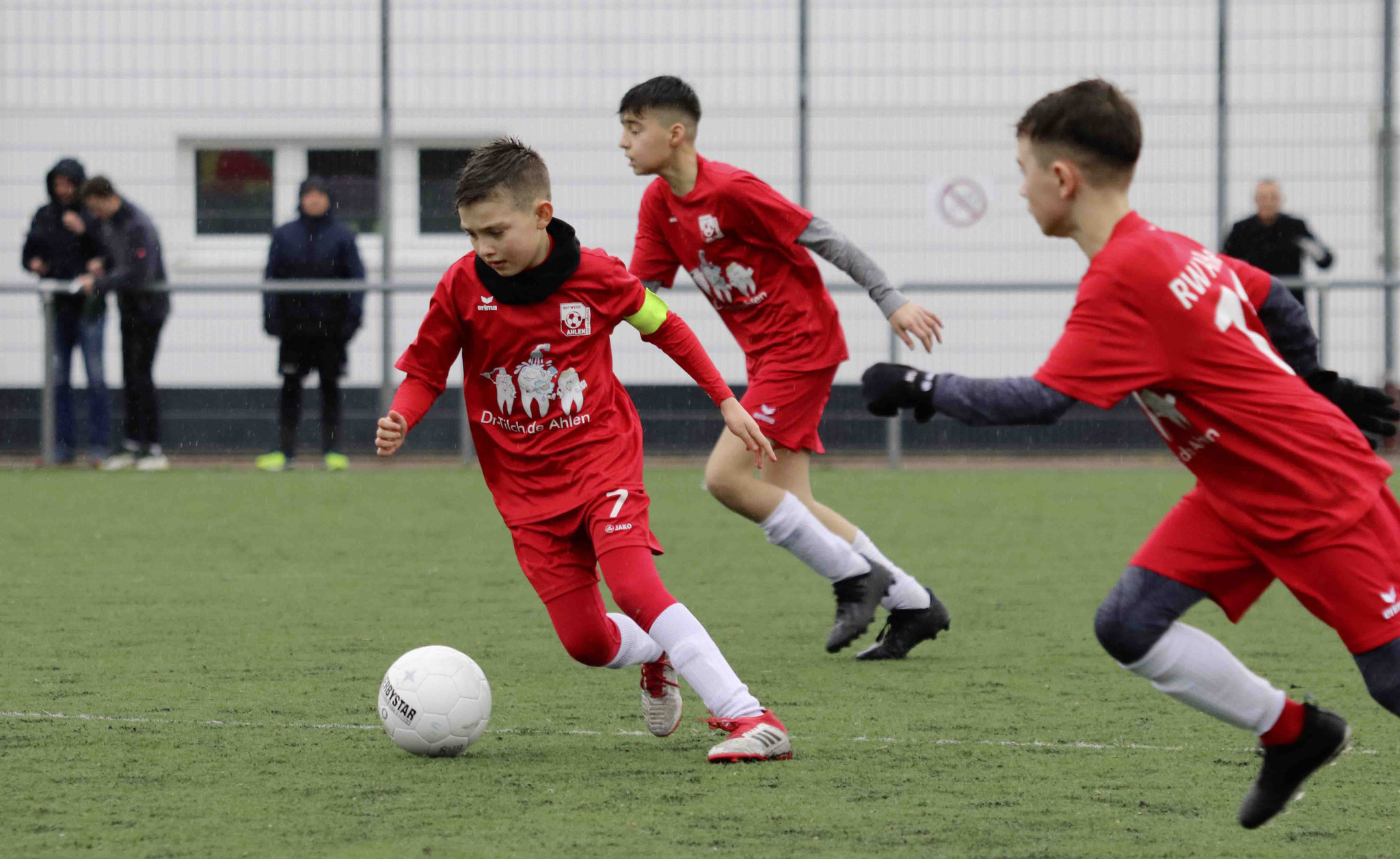 Rot Weiss Ahlen U12 D2 gegen VfL Mark