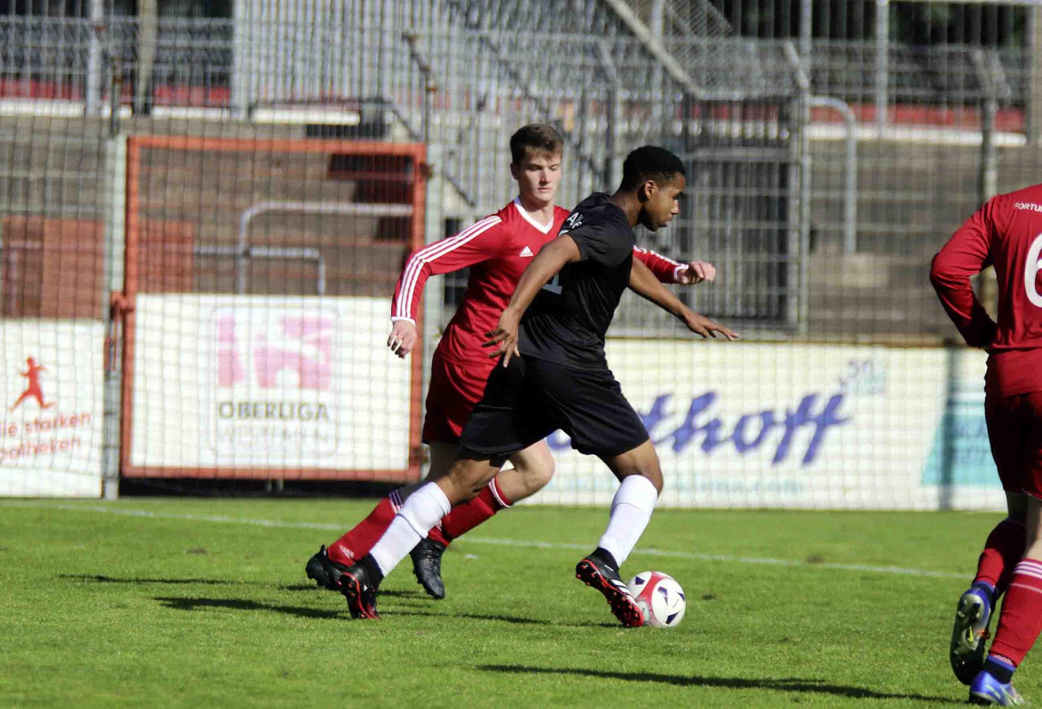 Rot Weiss Ahlen U18 gegen Fortuna Walstedde