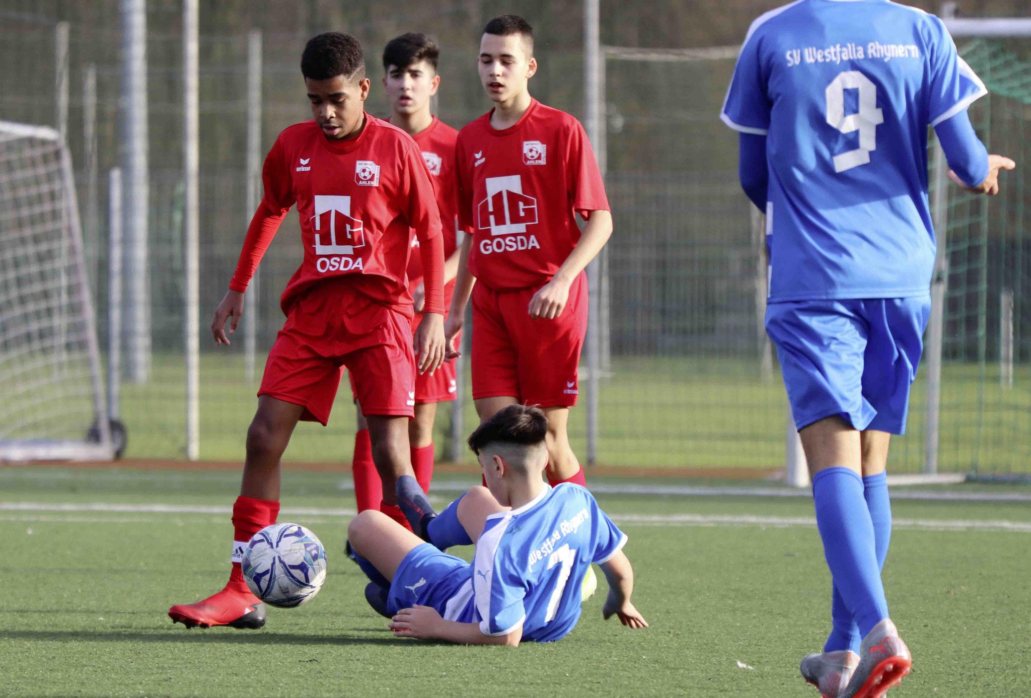 Rot Weiss Ahlen U15 C1 gegen Rhynern