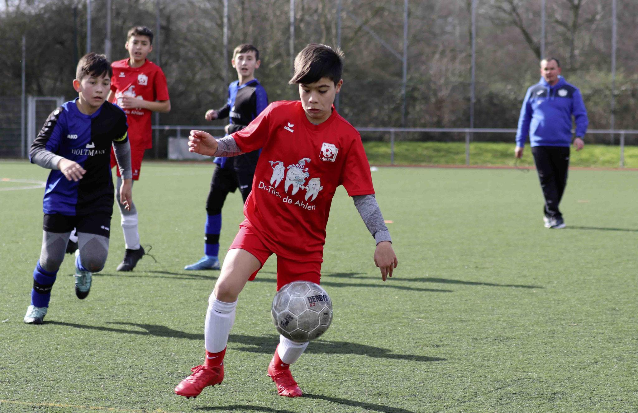 Rot Weiss Ahlen U12 D2 gegen SpVg Beckum II