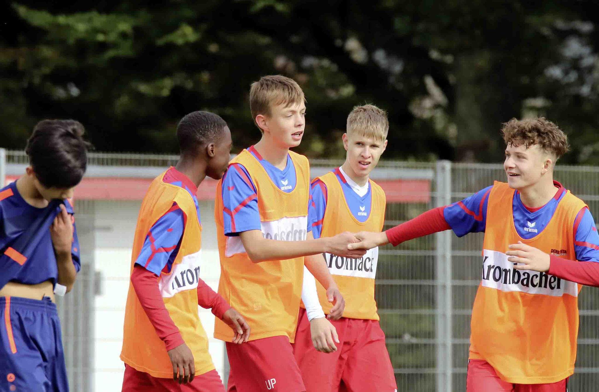 Rot Weiss Ahlen U16 gegen Ahlener SG
