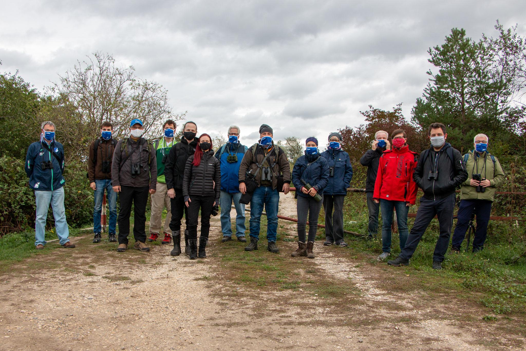 Alle Teilnehmer (Foto: B. Budig)