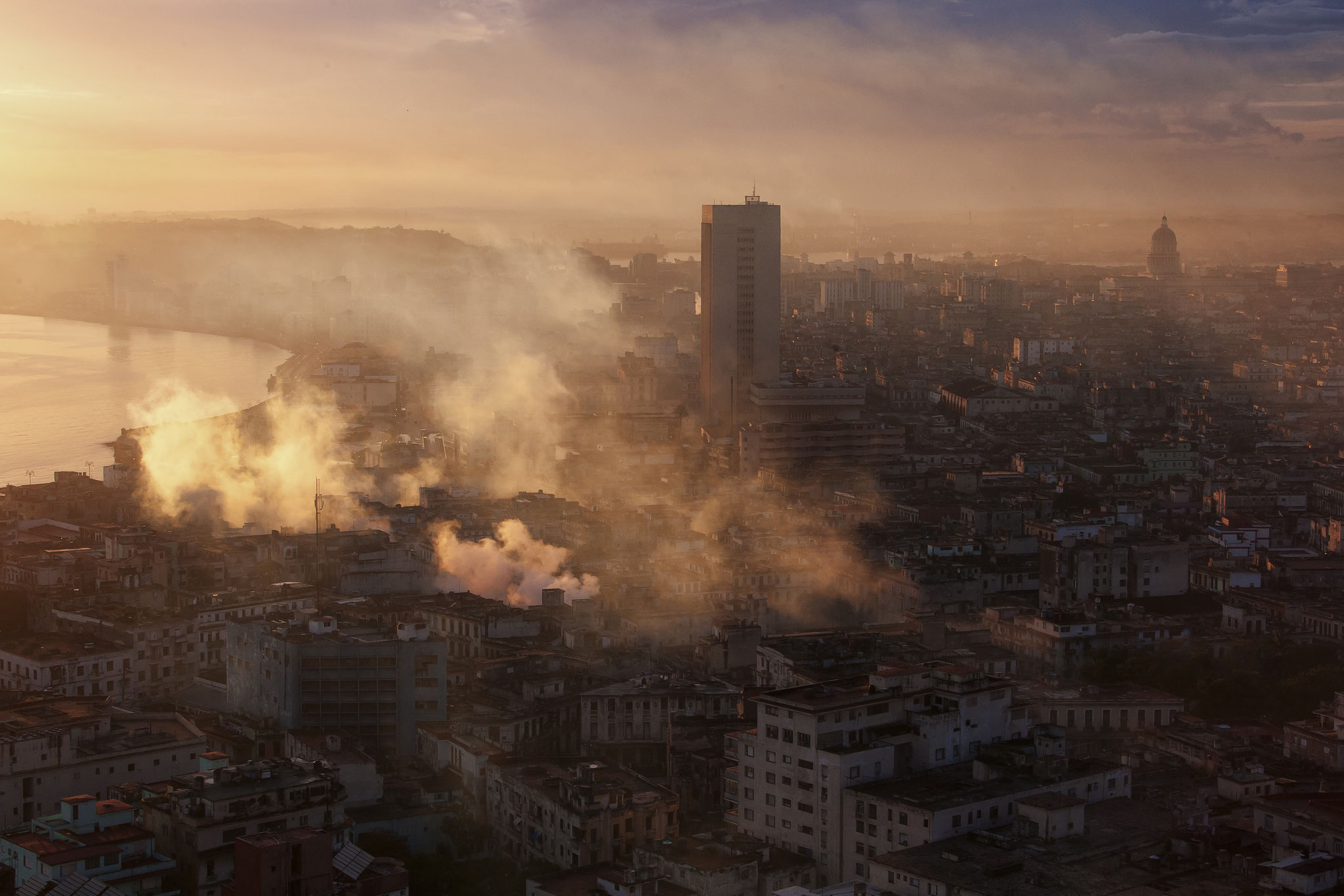 © Hans G. Lehmann | Morning light over Havana, Cuba