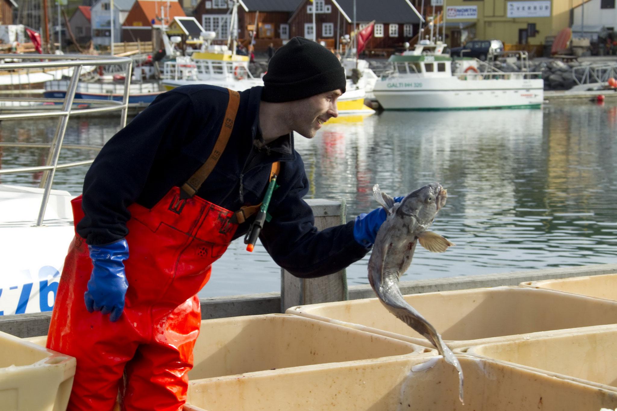 © Hans G. Lehmann | Fisherman in Husavik, Iceland
