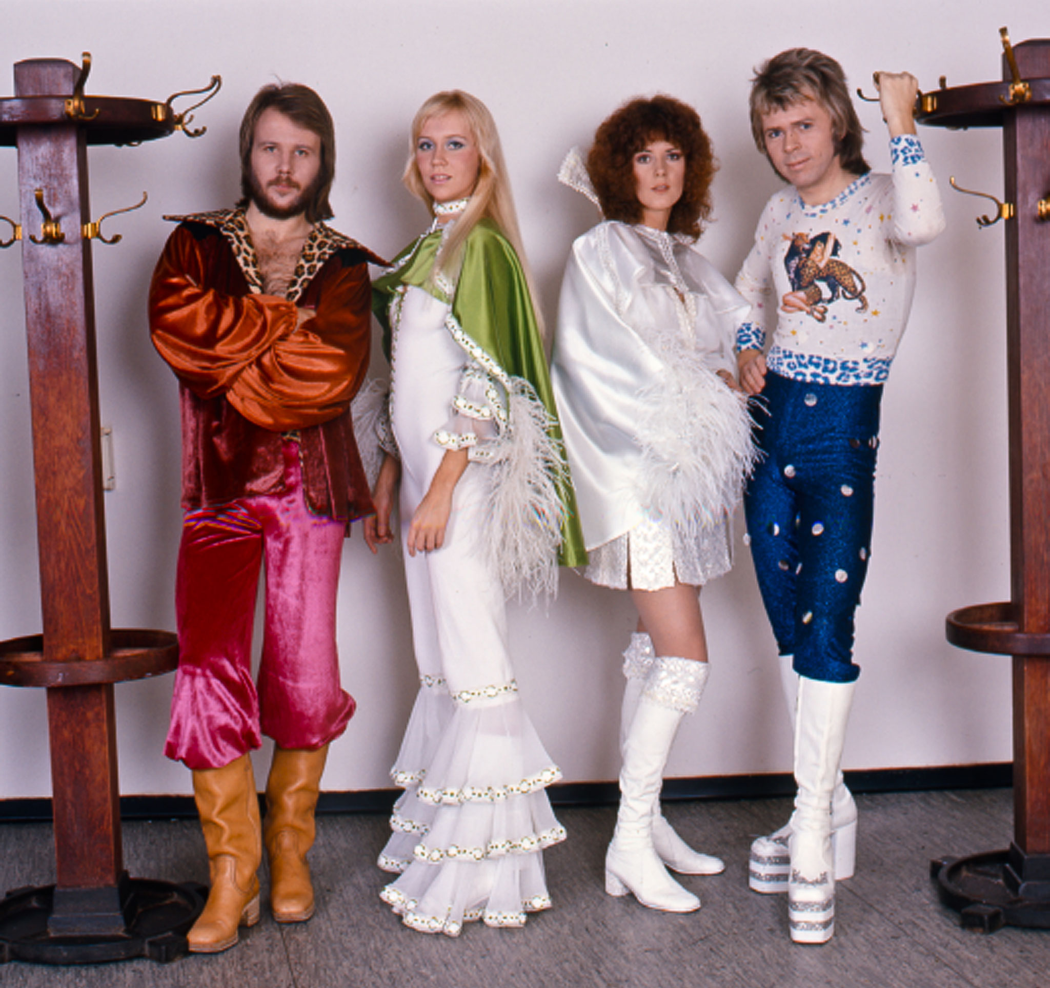 © Hans G. Lehmann | The legendary members of Abba in Hanover 1974