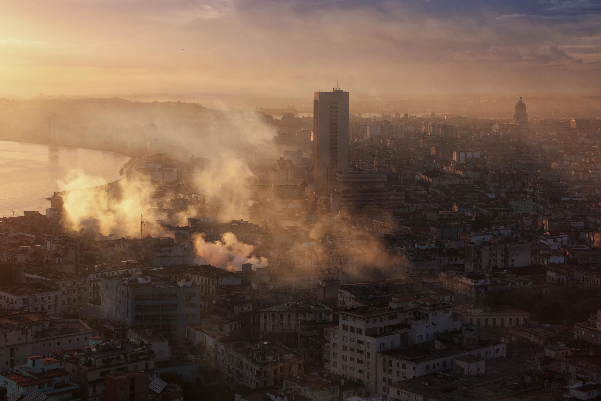 © Hans G. Lehmann | Morgenstimmung über  Havanna, Kuba