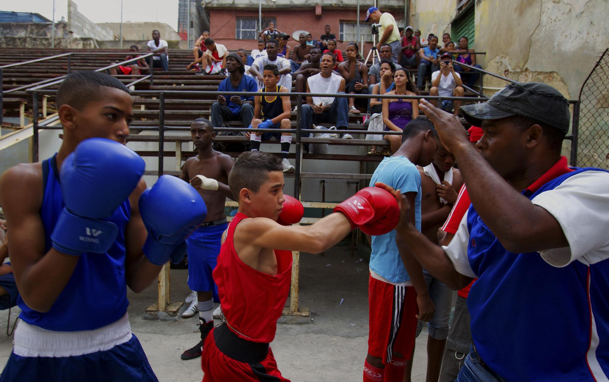 © Hans G. Lehmann | Boxing school in Havana, Cuba