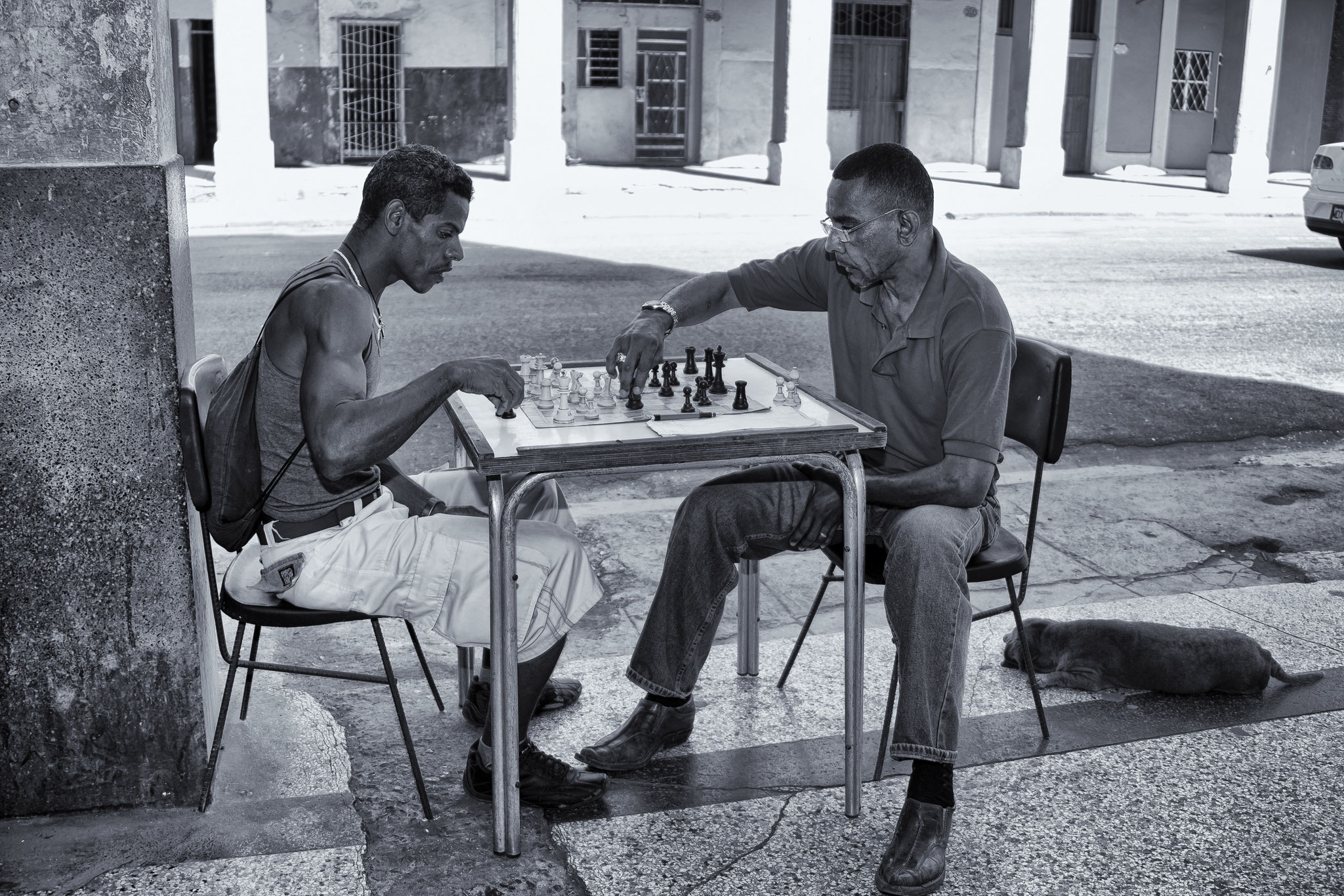 © Hans G. Lehmann | Chess players in Havana, Cuba