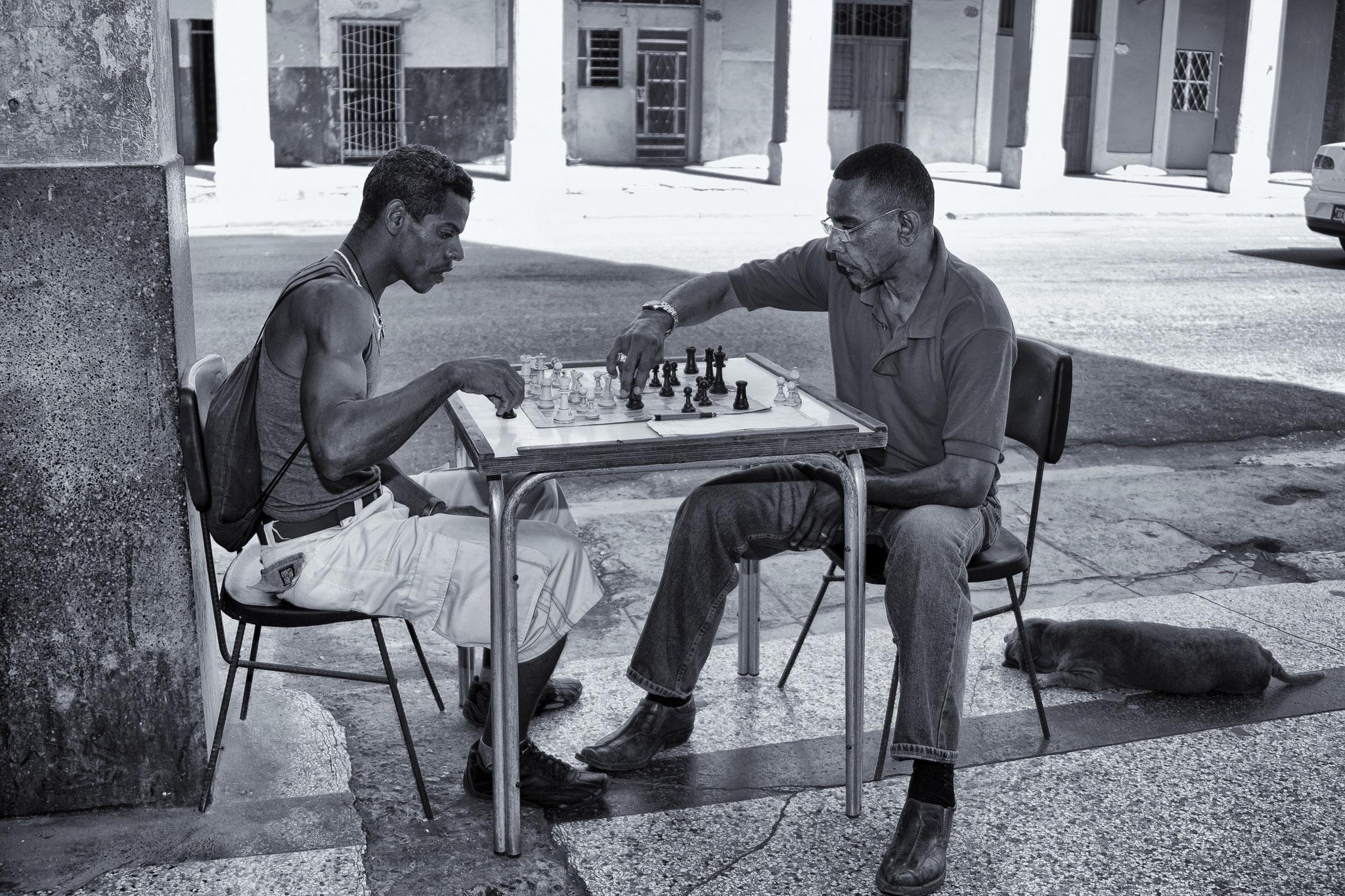 © Hans G. Lehmann | Schachspieler in Havanna, Kuba