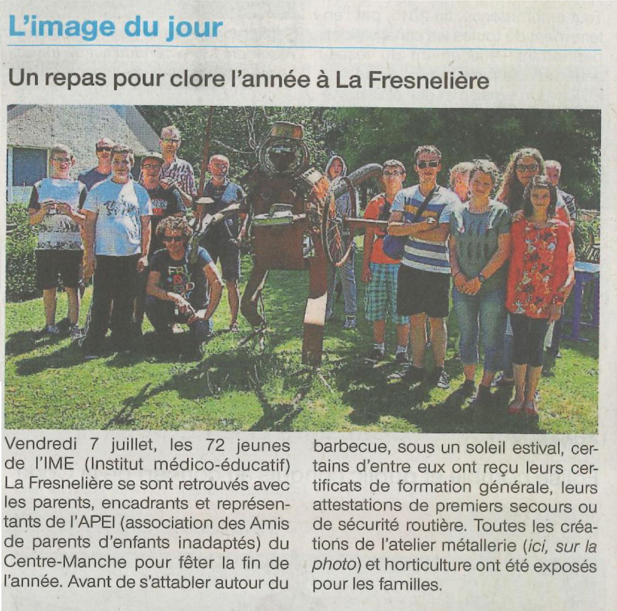 Ouest France - 11 juillet 2017