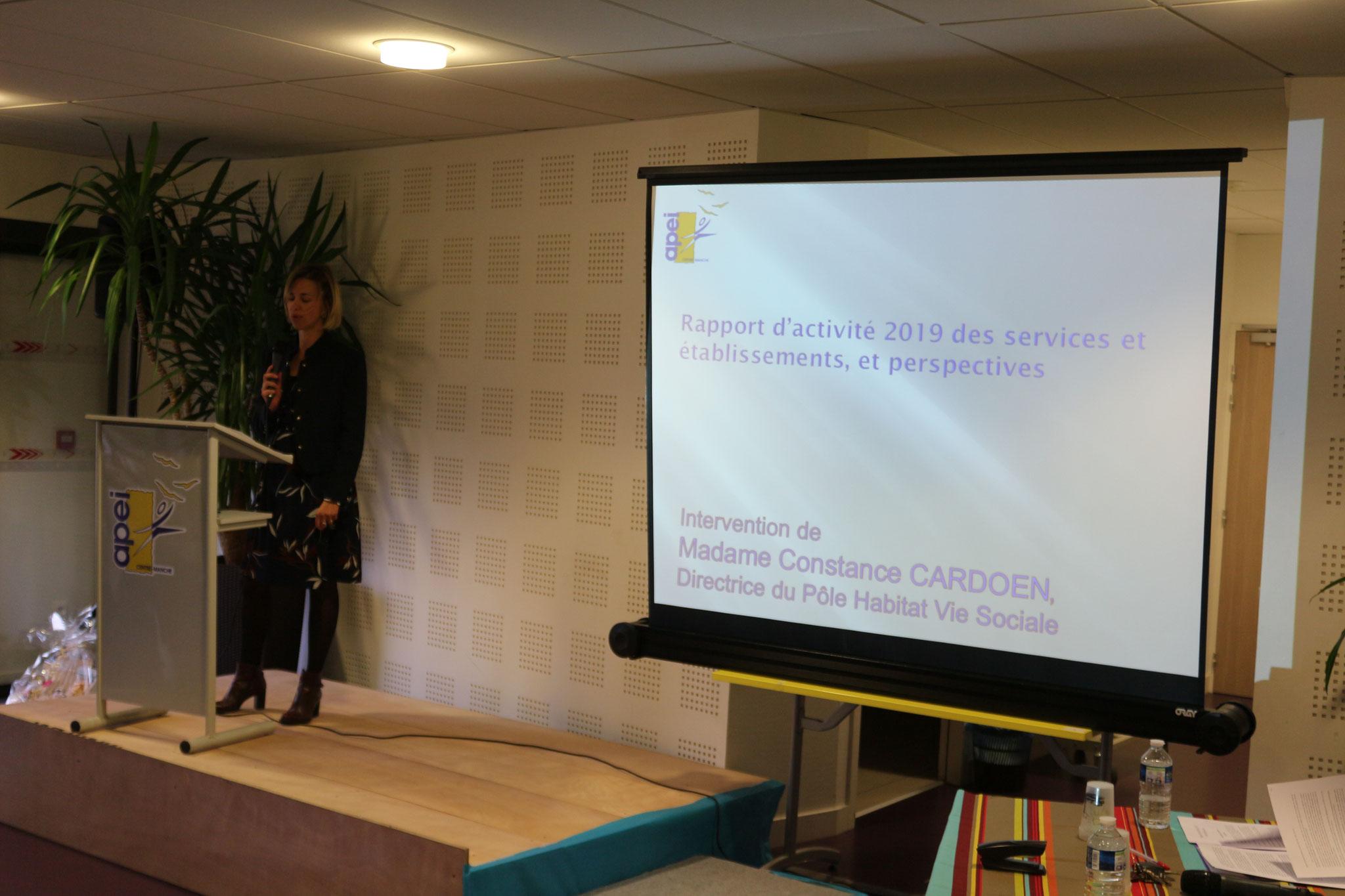 Rapport d'activités du Pôle Habitat vie Sociale et Accompagnement Spécialisé par Constance CARDOEN