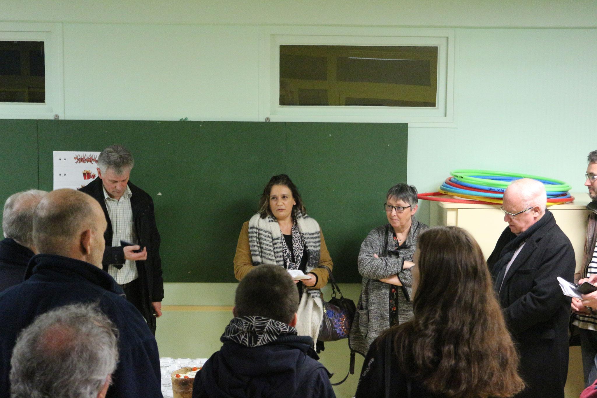 Discours de N. BREUIL, représentant l'Agence Régionale de Santé de Normandie