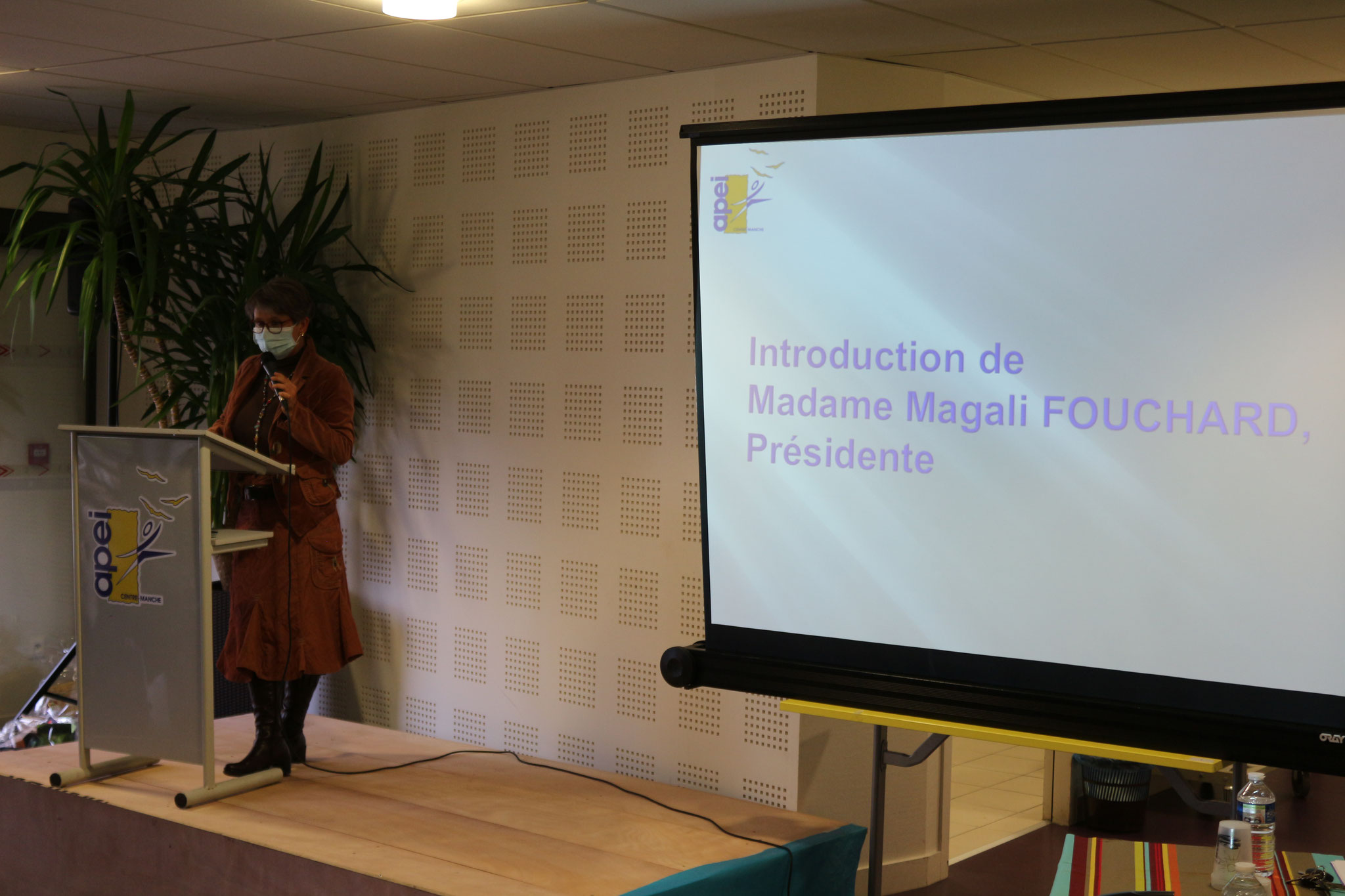 Introduction de Magali FOUCHARD, Présidente