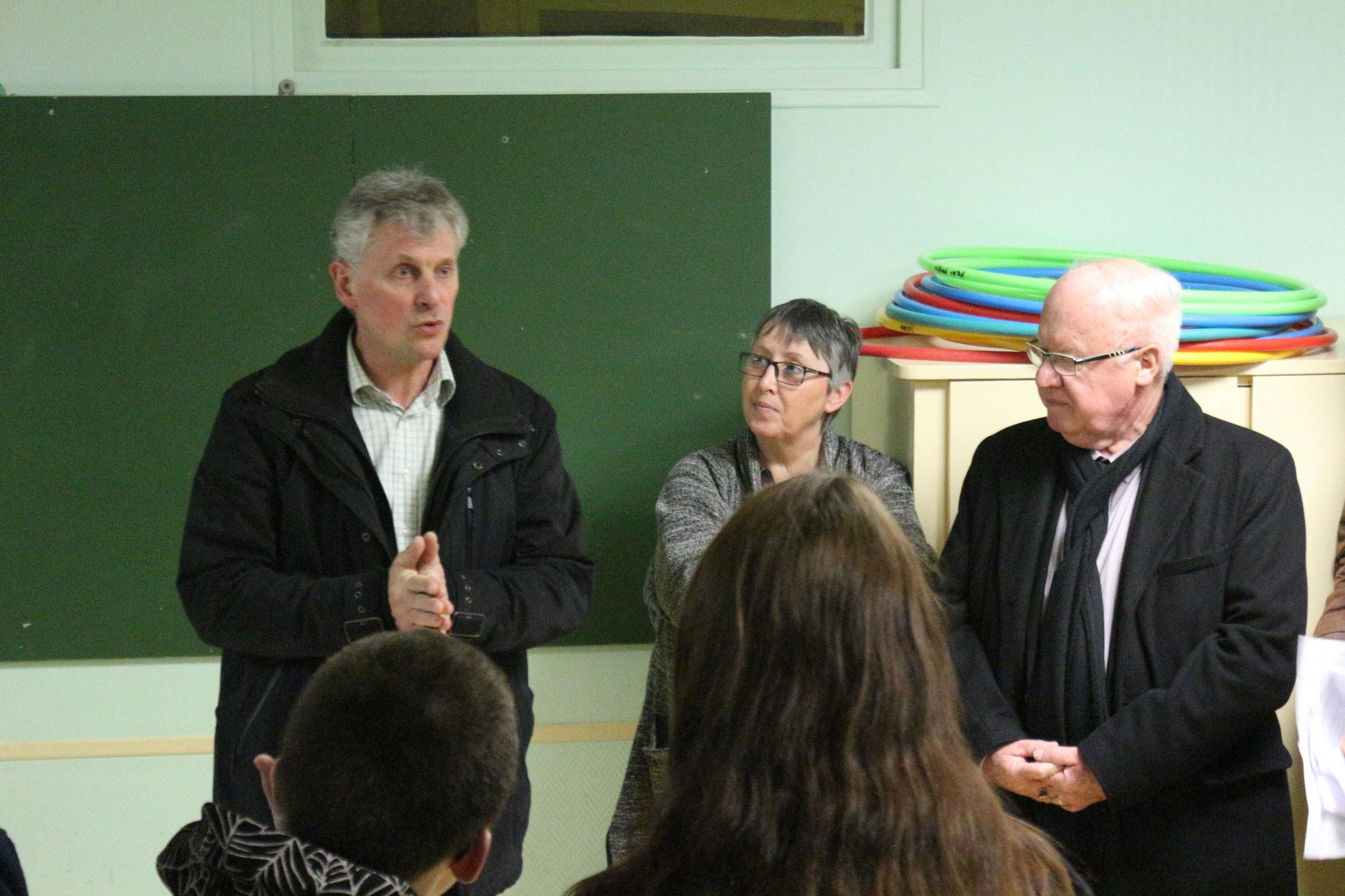 Discours de M. LEGRANCHE, représentant l'Education Nationale
