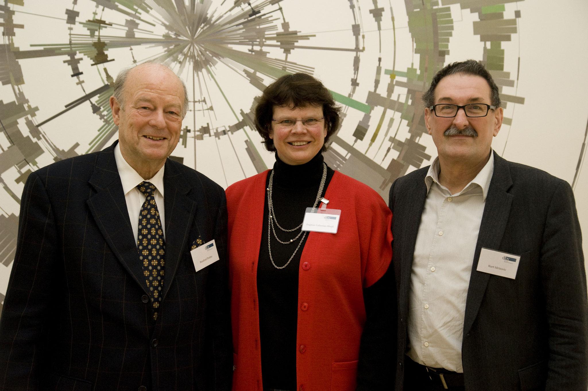 2013_Der neu gewählte Vorsitz der AG der Freundeskreise im dbv