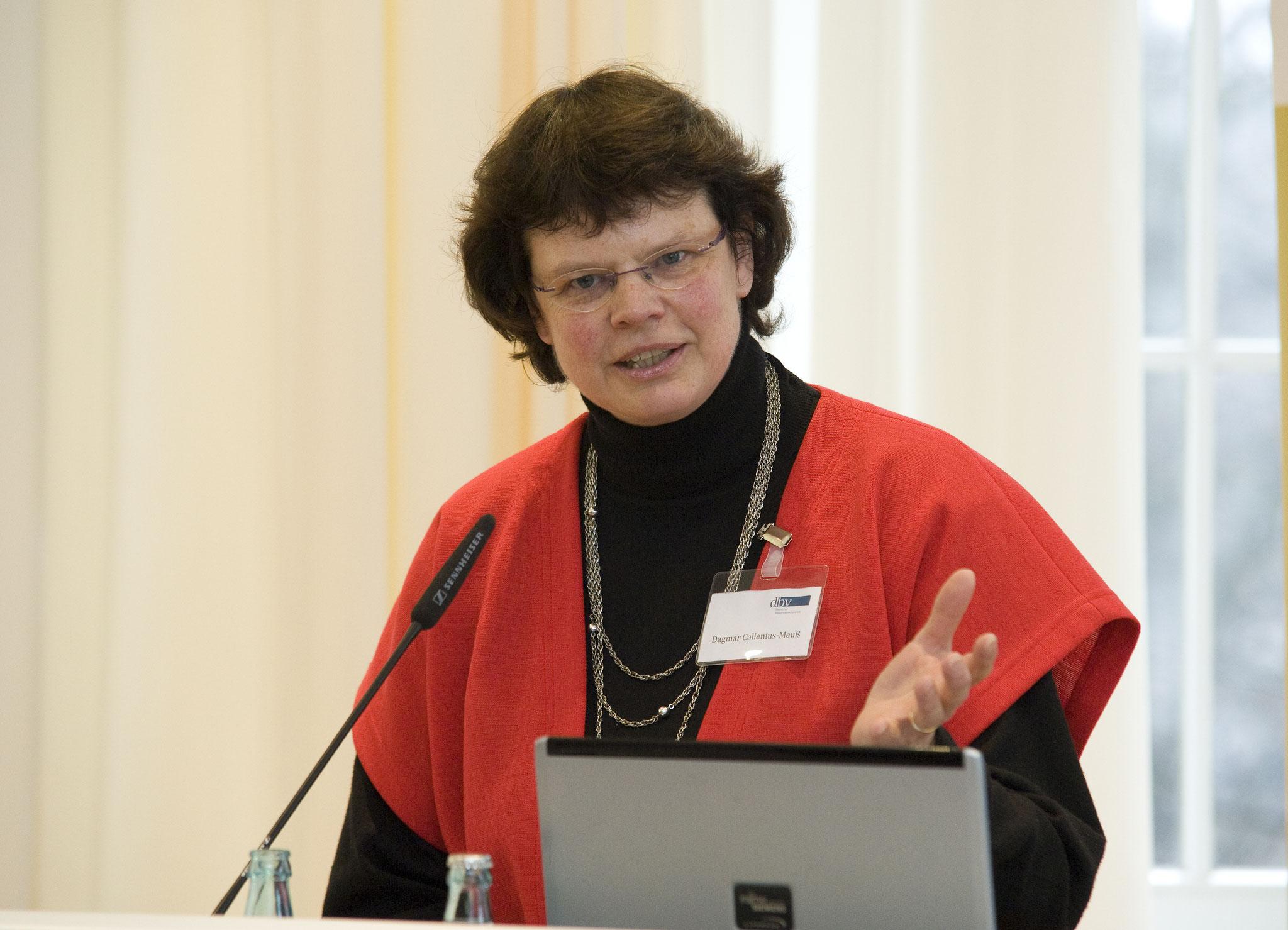 2013_Dagmar Callenius-Meuß neu gewählte 2. Stellvertreterin