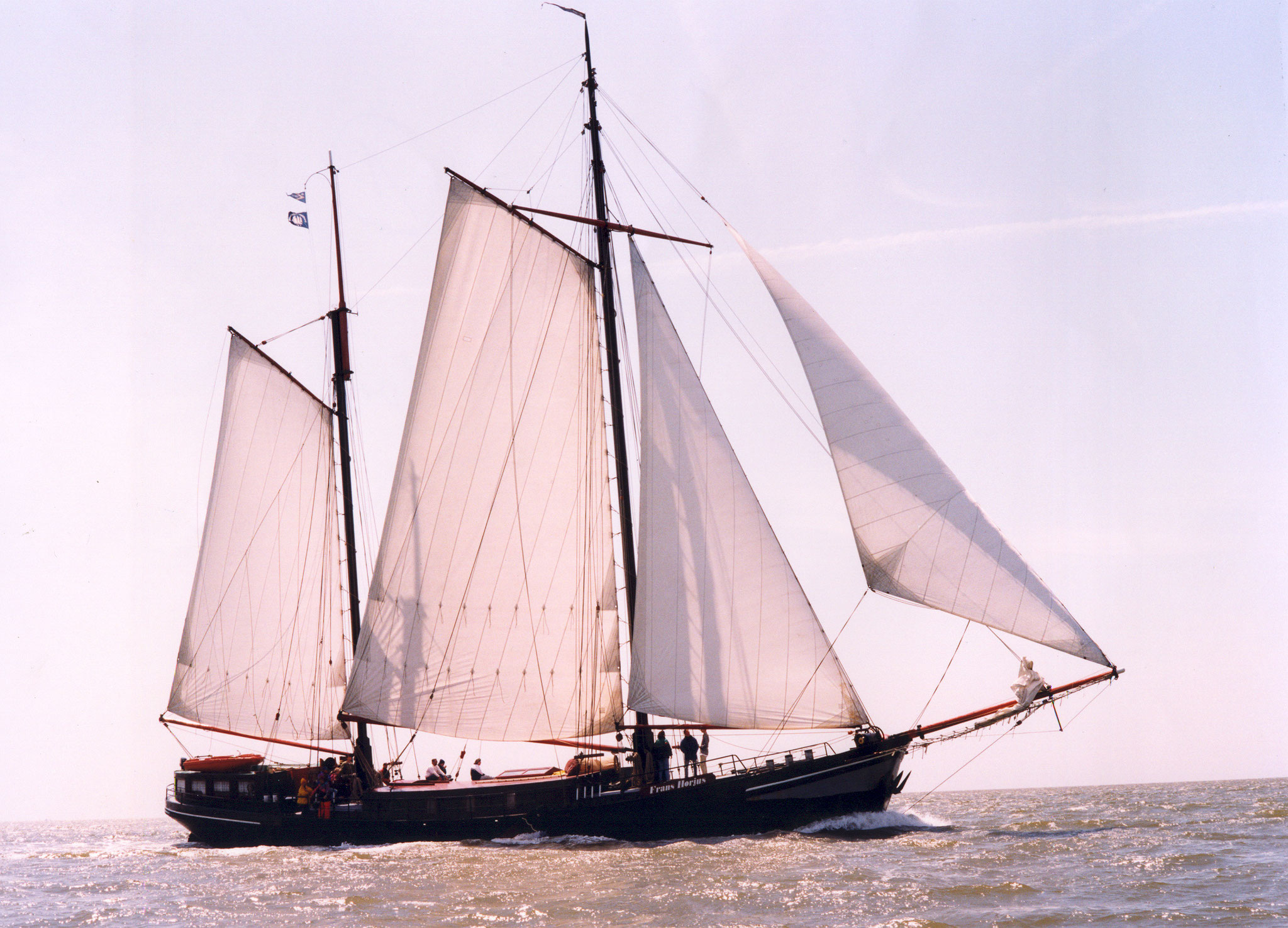 Zeilschip Frans Horjus
