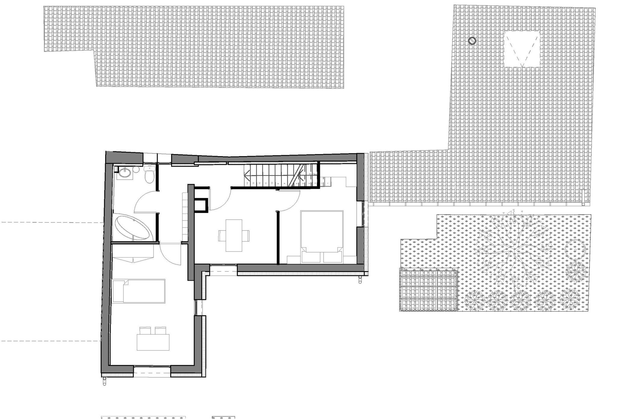 Plan de premier étage