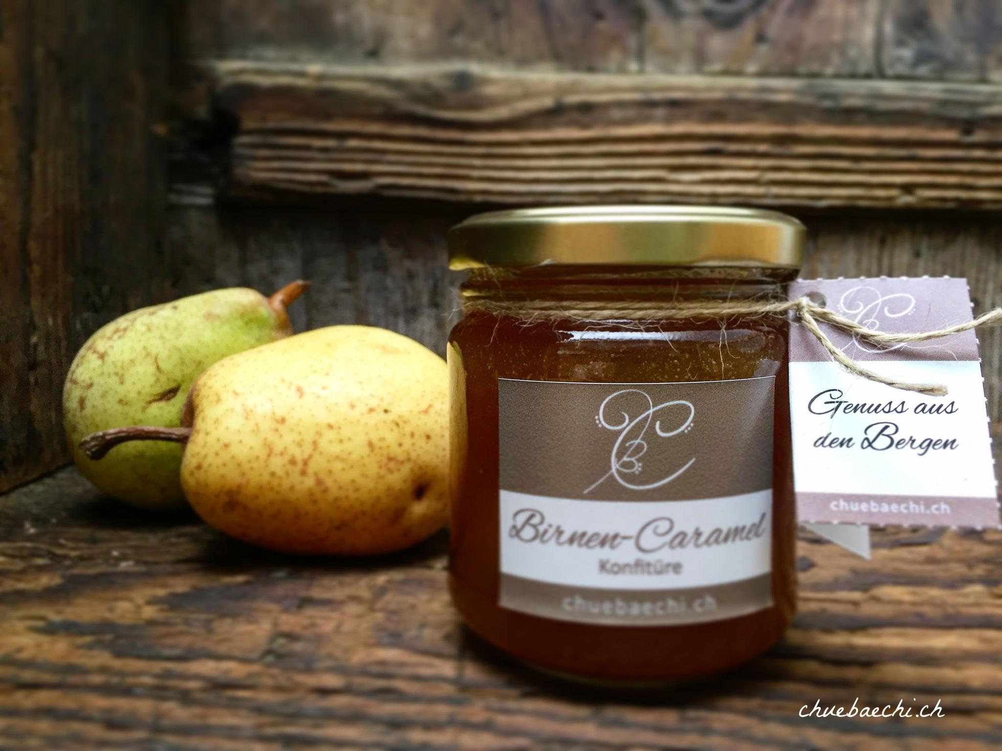 Hausgemachte Birnen-Caramel Konfitüre