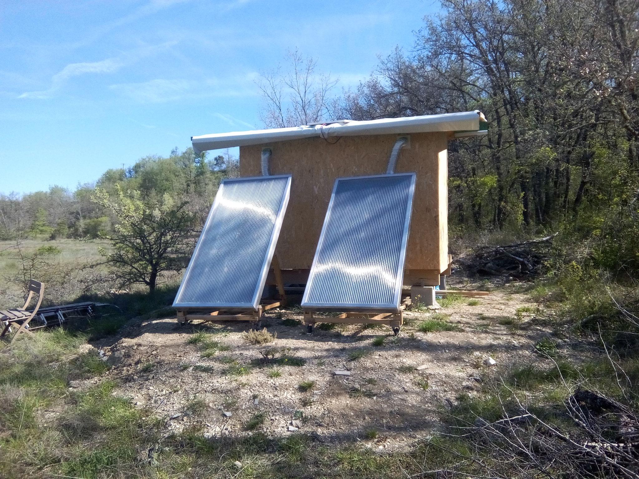 Séchoir solaire / vue 1