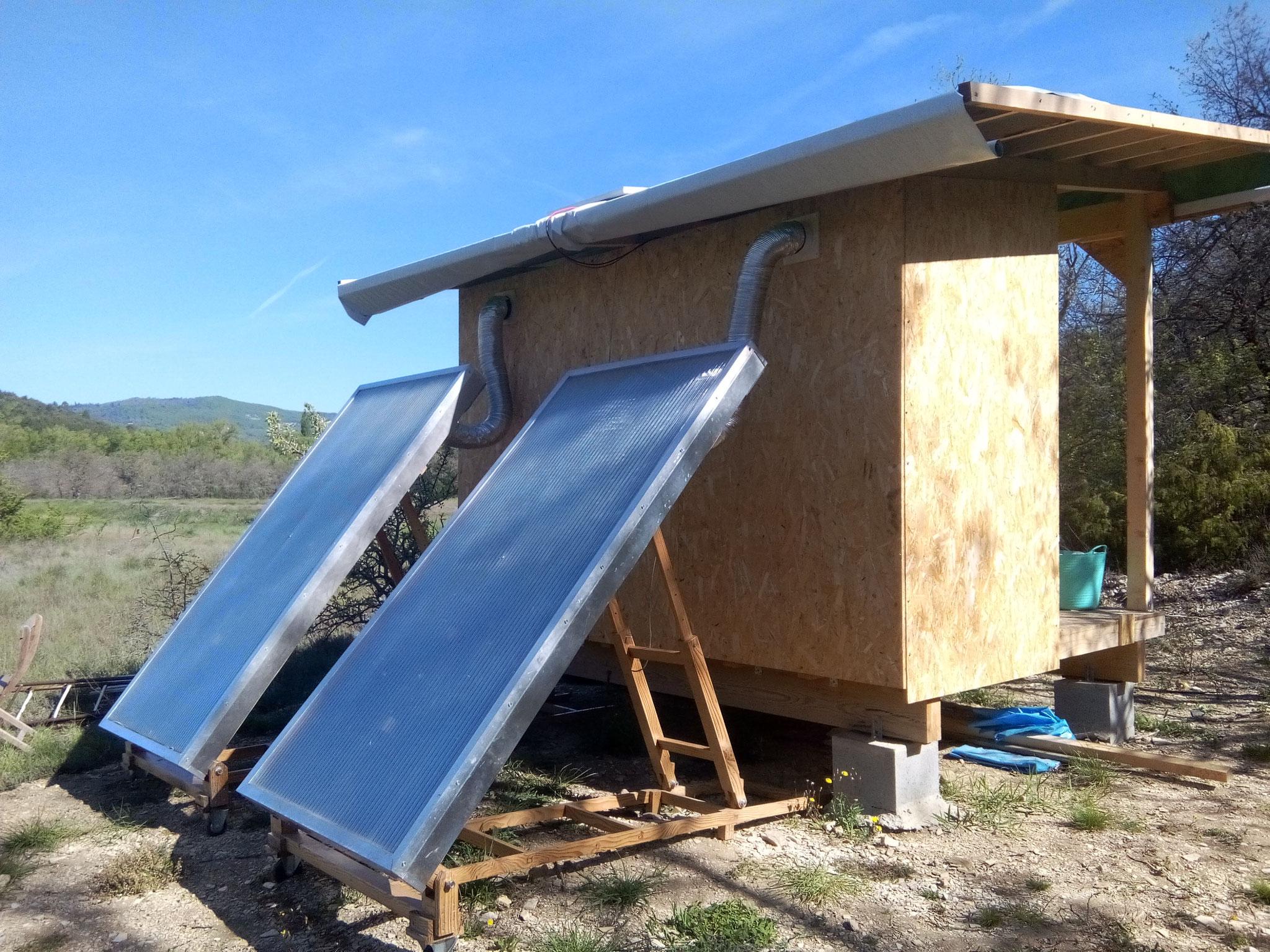 Séchoir solaire / vue 2