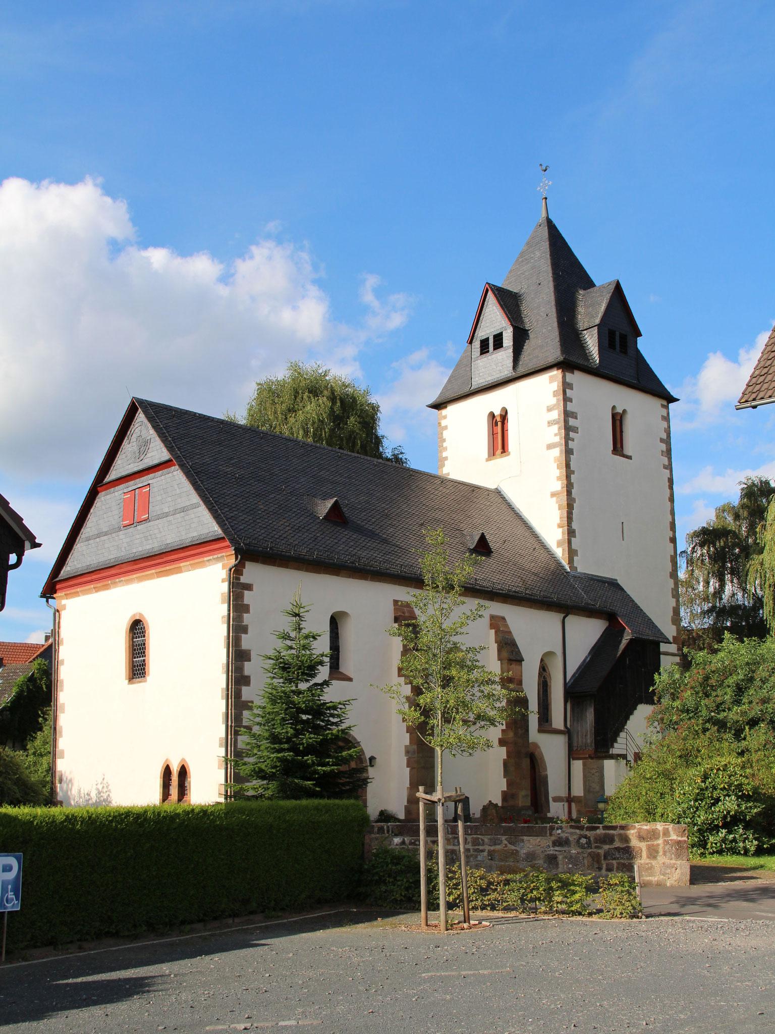 Martinskirche Michelbach   Bildquelle: Gerold Rosenberg bei Wikipedia