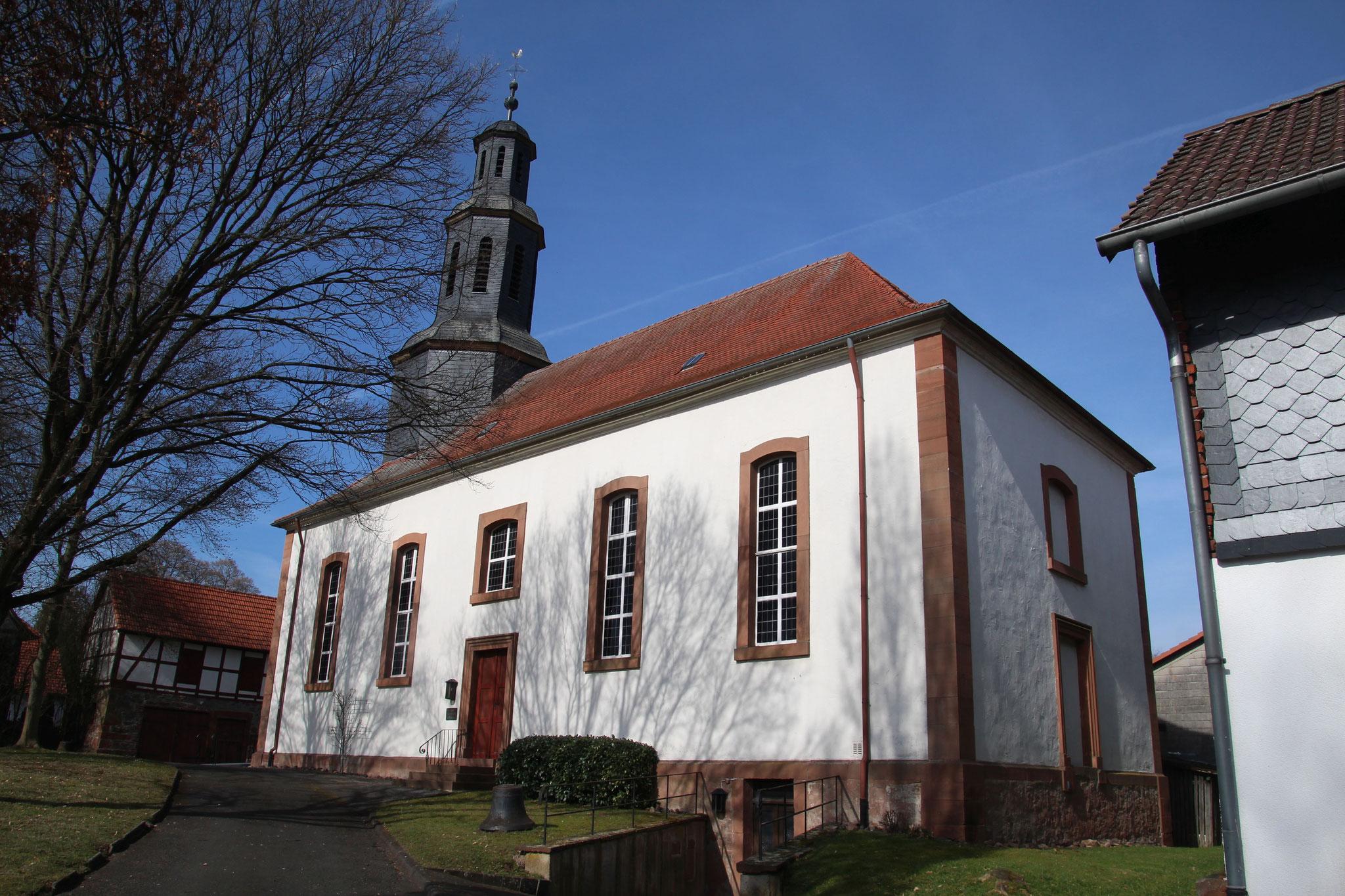 Pfarrkirche Elnhausen   Bildquelle: Gerold Rosenberg bei Wikipedia
