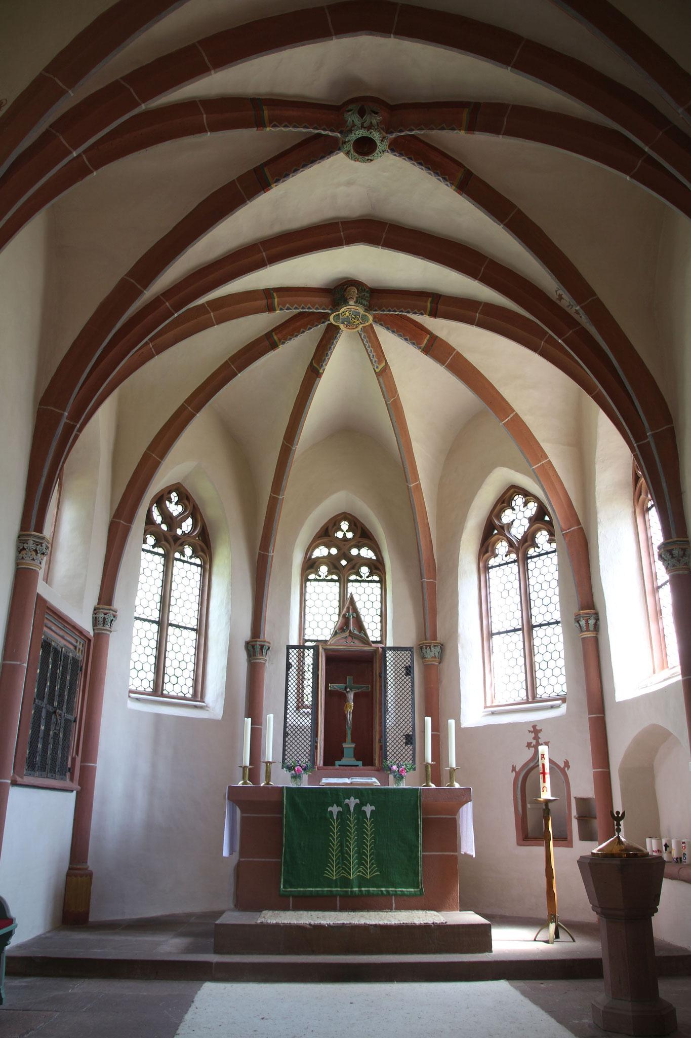 Marienkirche Wehrshausen   Bildquelle: Gerold Rosenberg bei Wikipedia