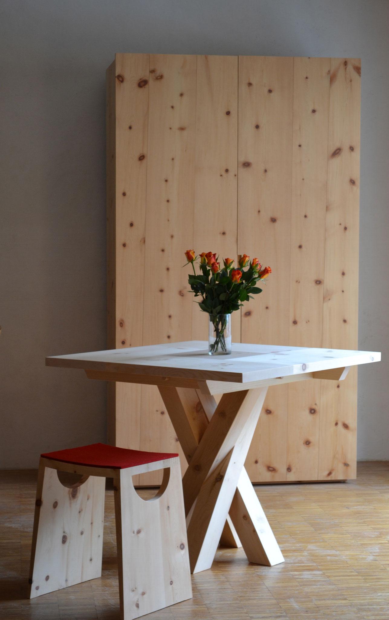 Tisch Twist Arve quadratisch