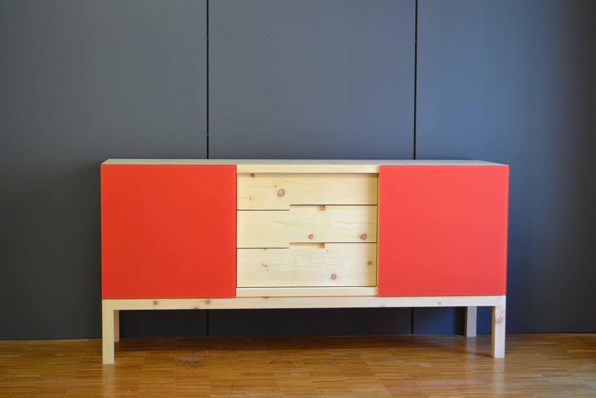 Sideboard Lowboard Aus Arve Und Anderen Holzarten Schreinerei