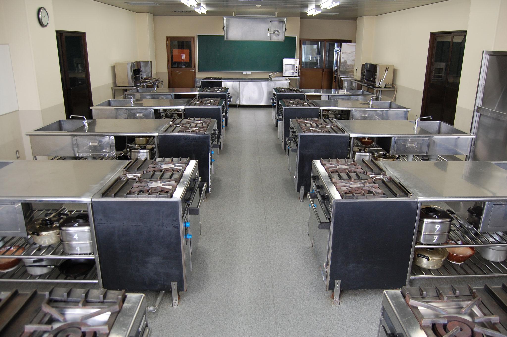 日本料理実習室