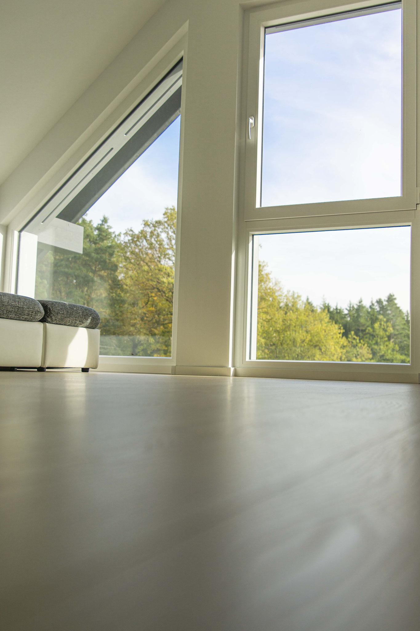 Hell und freundlich - individuelle Gestaltung der Räume. Foto: Dominik Frank