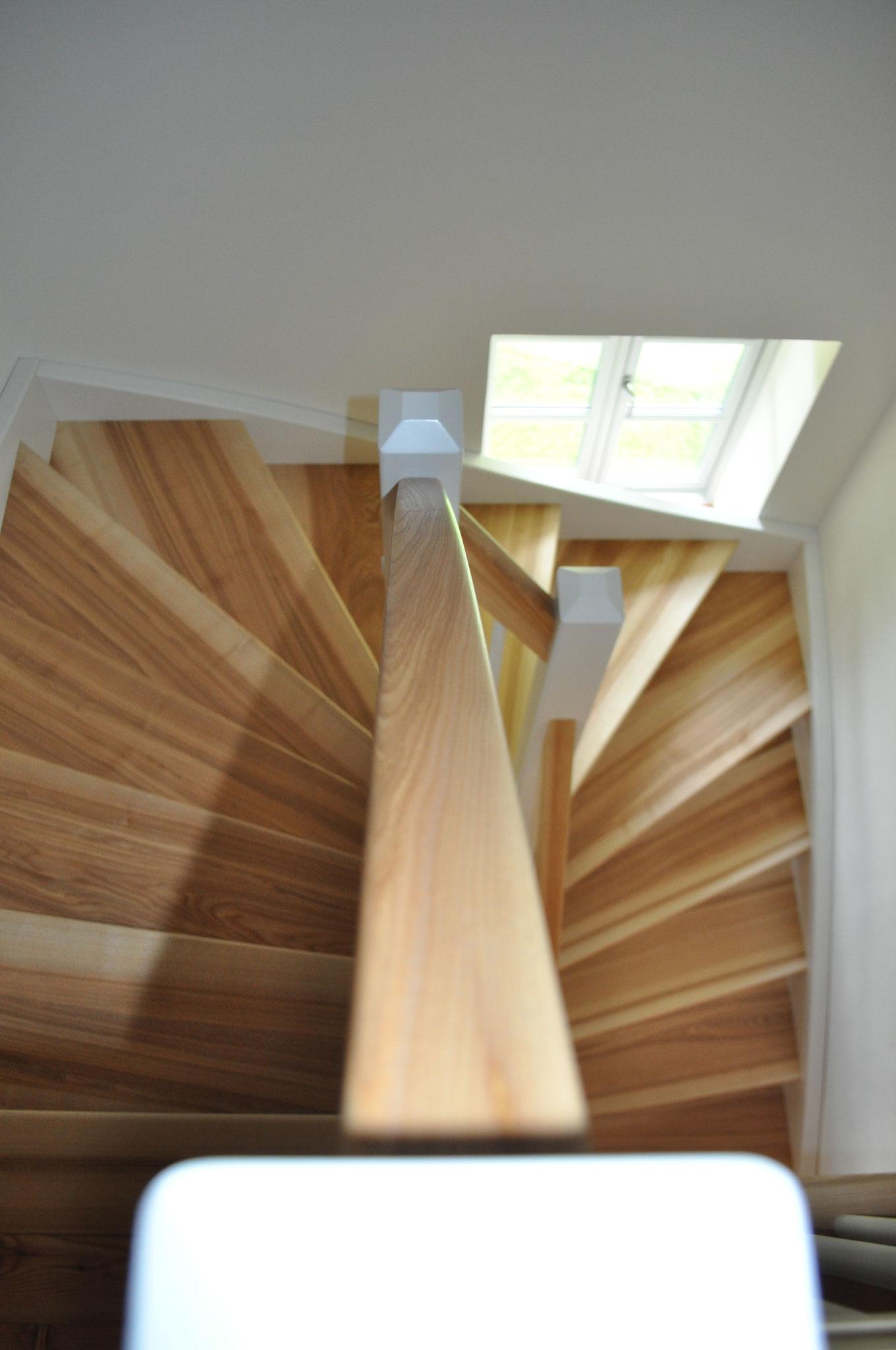 Holztreppe - edles Design