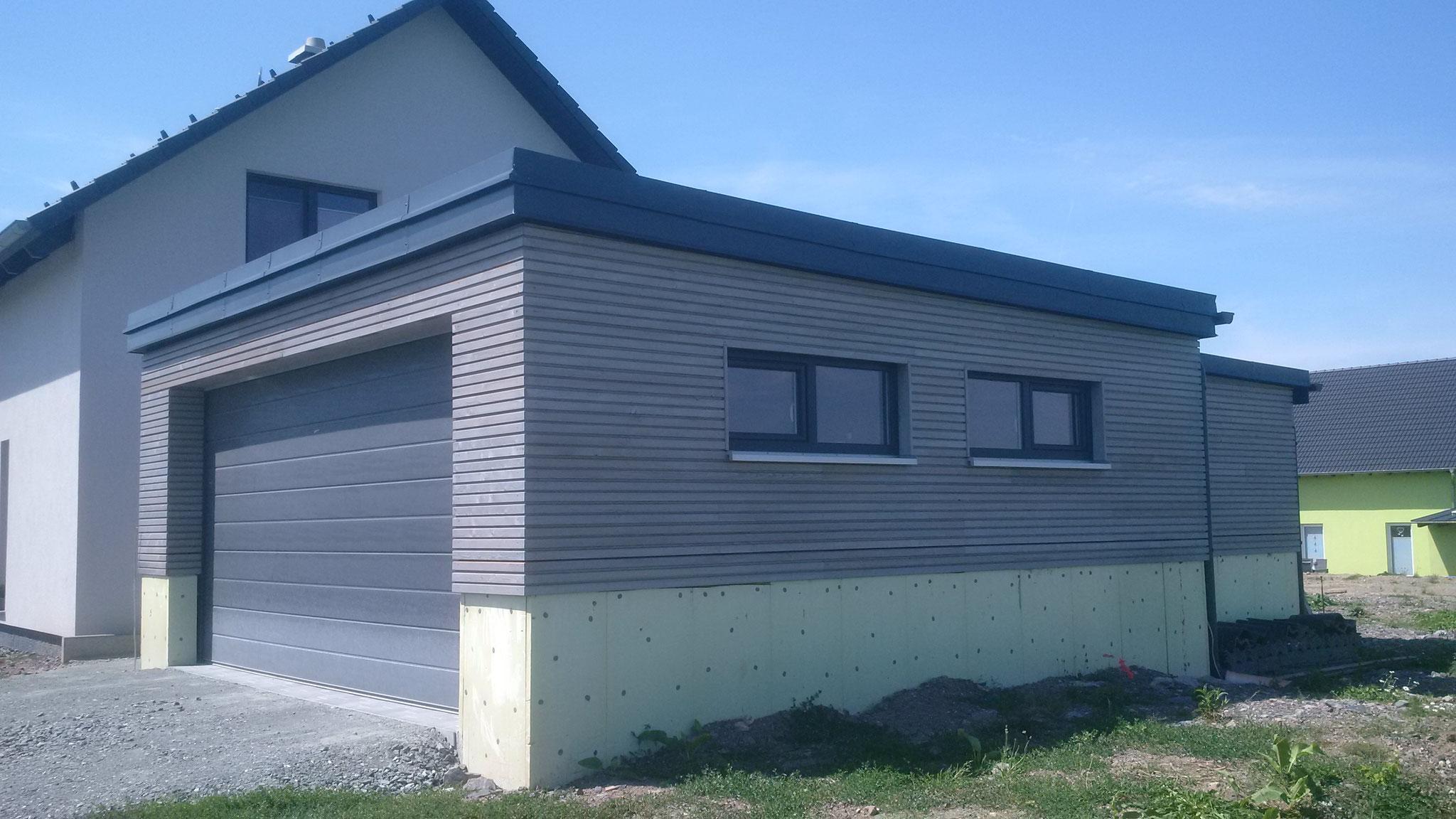 Garage in Holzrahmenbauweise