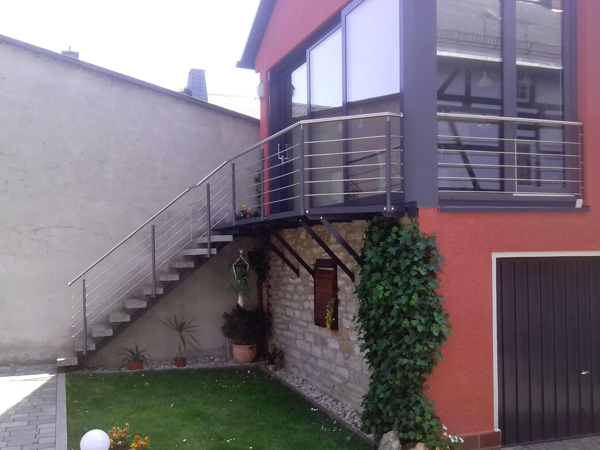 Metall-Treppengeländer