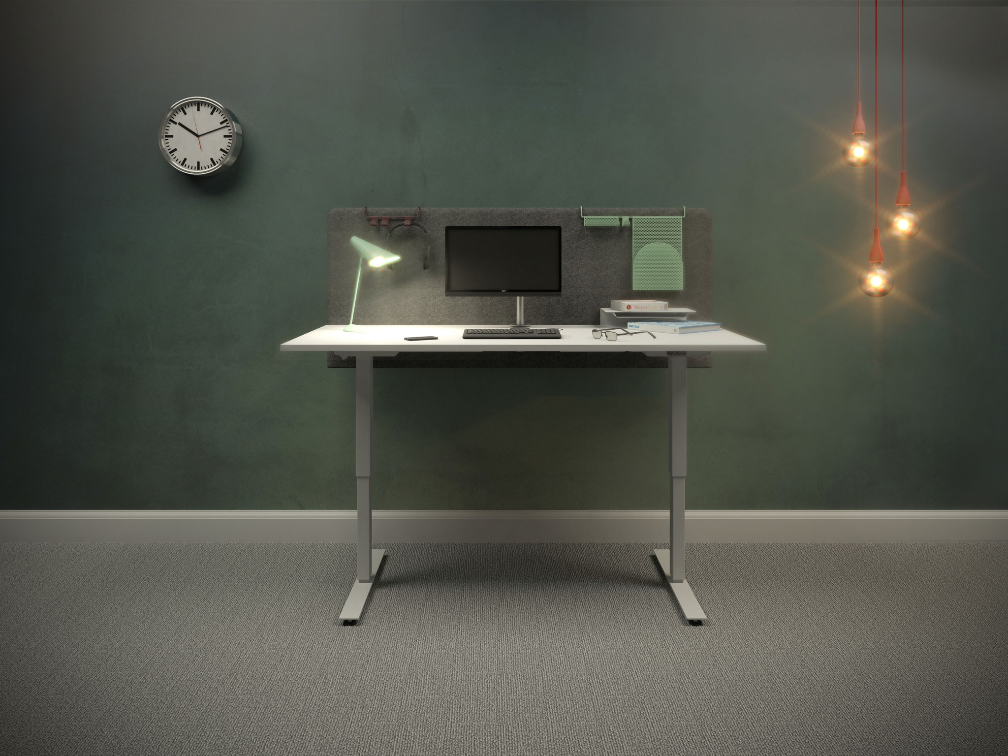 EFG Active - connected sit-stand desk