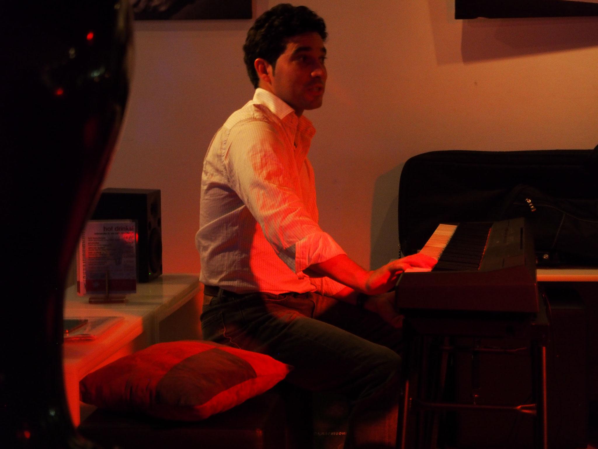 Adrian Enriquez -Piano