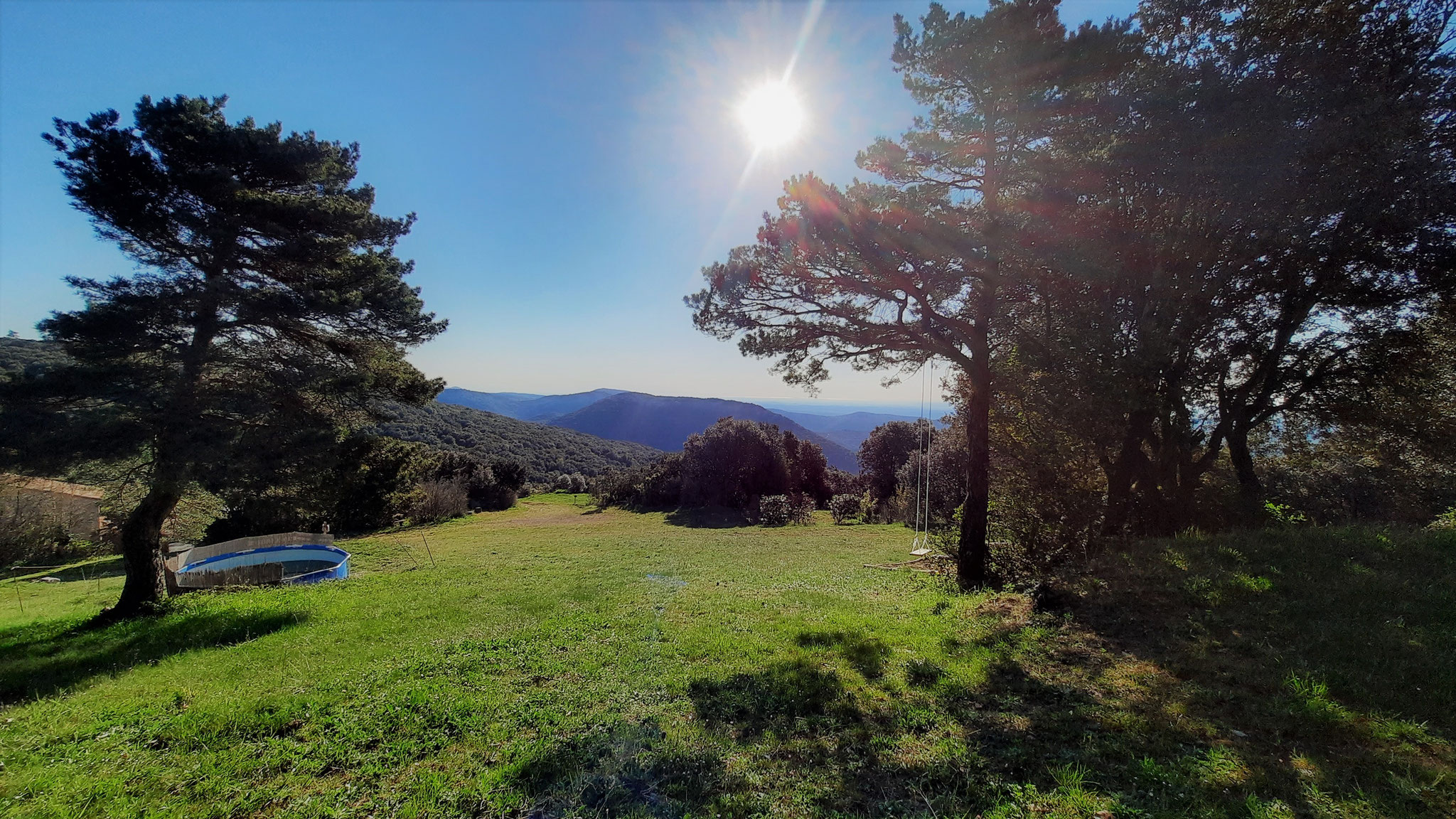 Blick über den Campingplatz