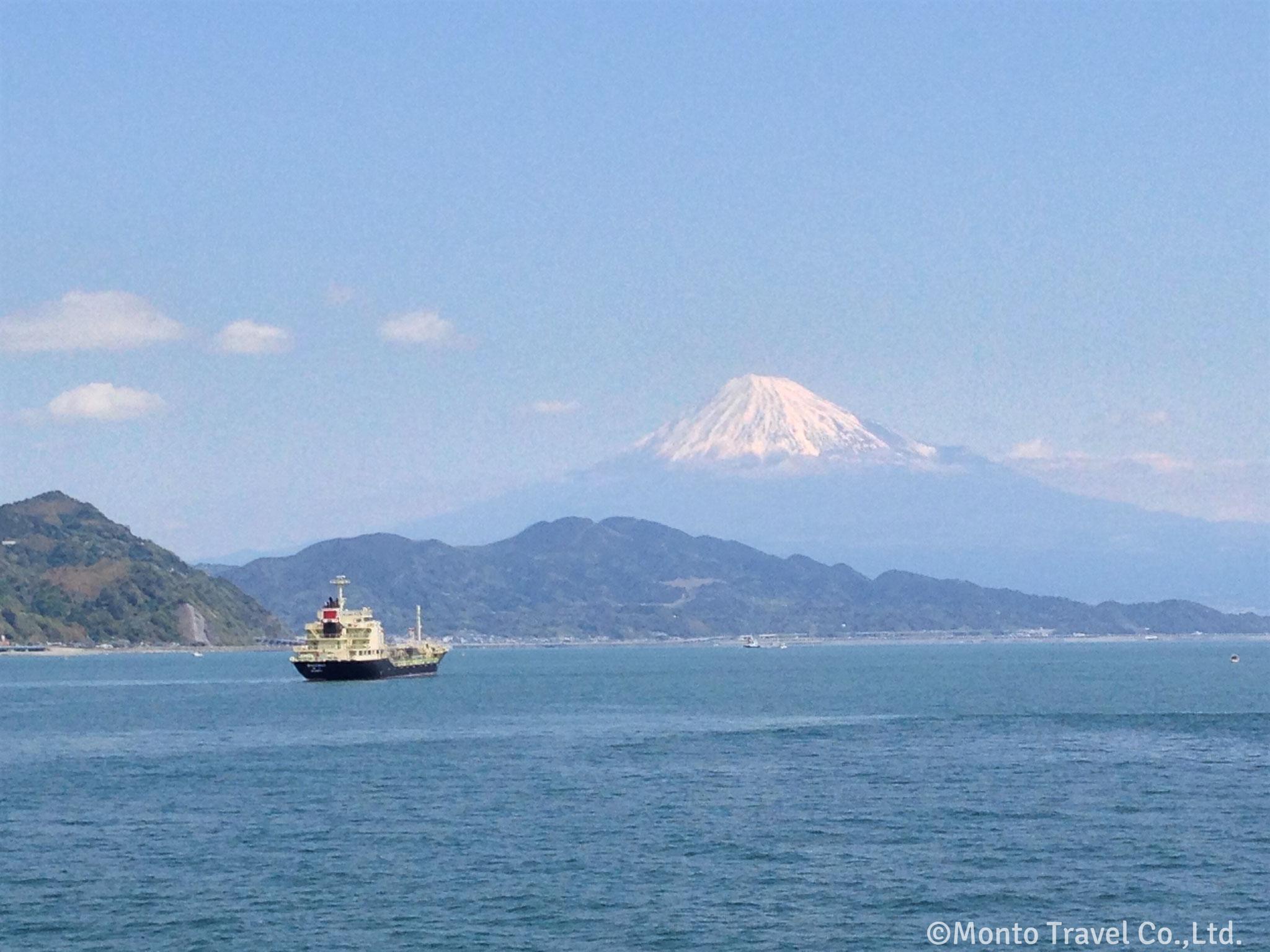 富士山 駿河湾フェリーからの景色