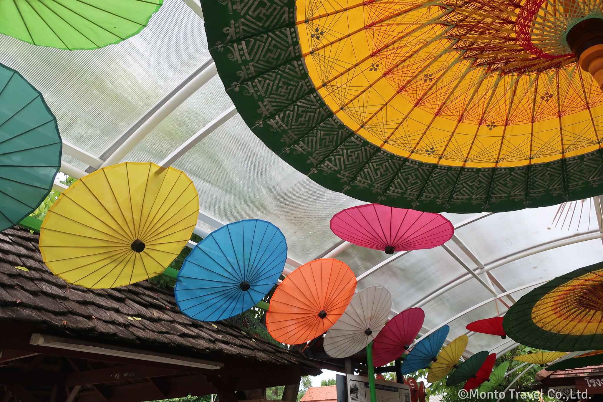 手作り傘の村(ボーンサーン)
