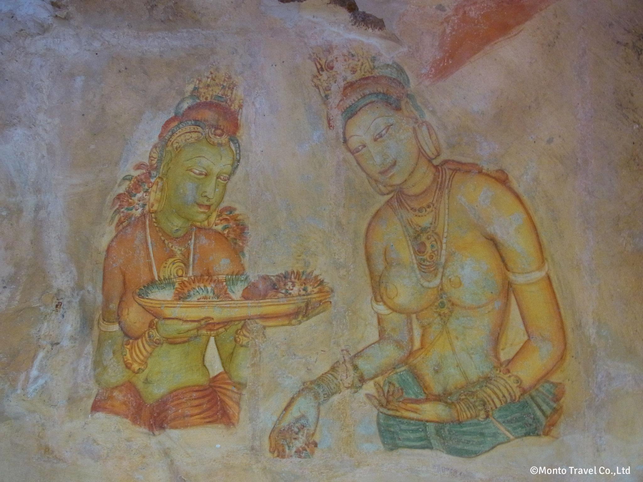 シギリヤ・レディ壁画