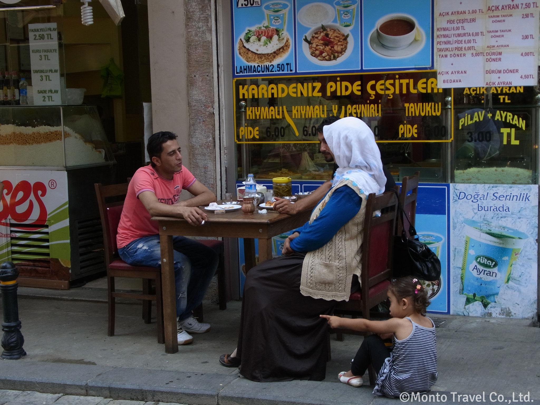 街の風景(イスタンブール)